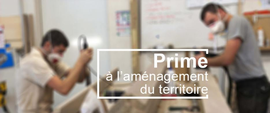 prime amenagement territoire